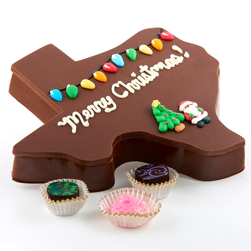 Texas Christmas Assorted Chocolate Box