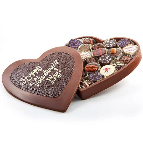 Assorted Box of Chocolates Heart Shape
