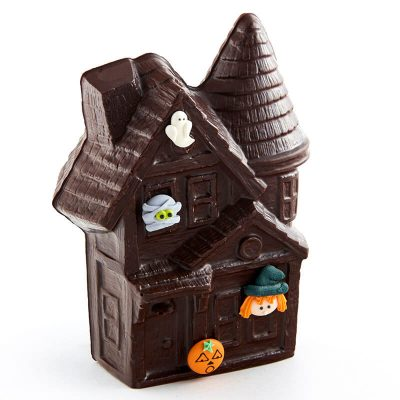 Molded Chocolate Haunted House - Boo