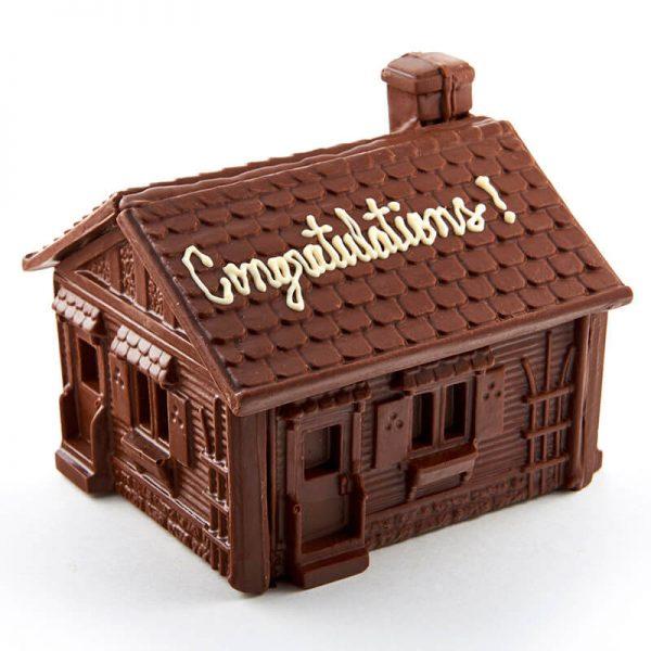 Molded Chocolate House
