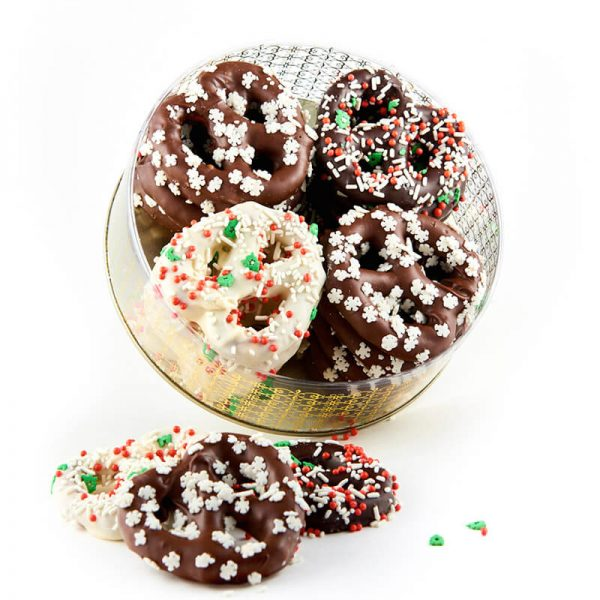 Chocolate Covered Pretzels for Holiday