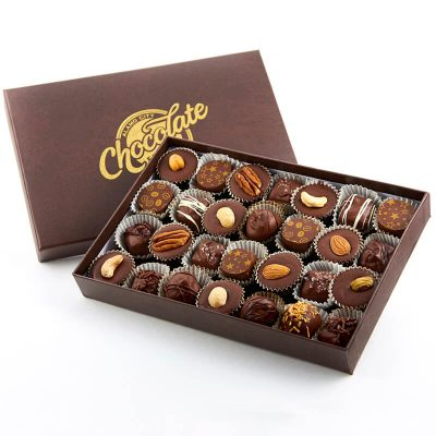 Assorted Chocolate Box with Nuts