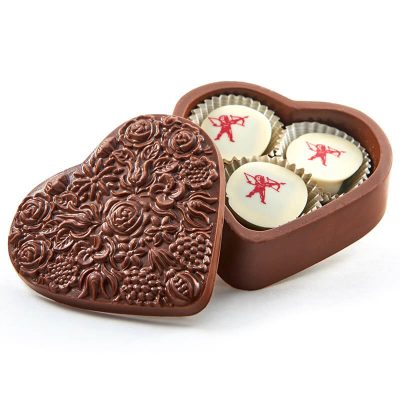Heart Shaped Assorted Chocolate Box