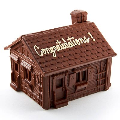 Molded Chocolate House