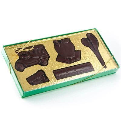 Fun Shaped Molded Chocolate Confection