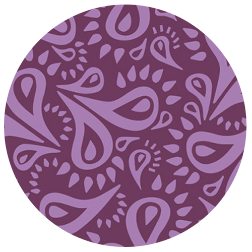 Burgundy Wine Truffle Pattern