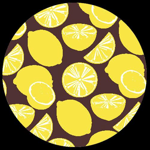 Lemon Truffle Pattern