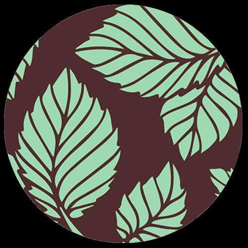 Mint Truffle Pattern
