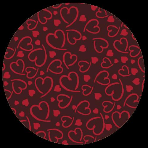 Raspberry Truffle Pattern